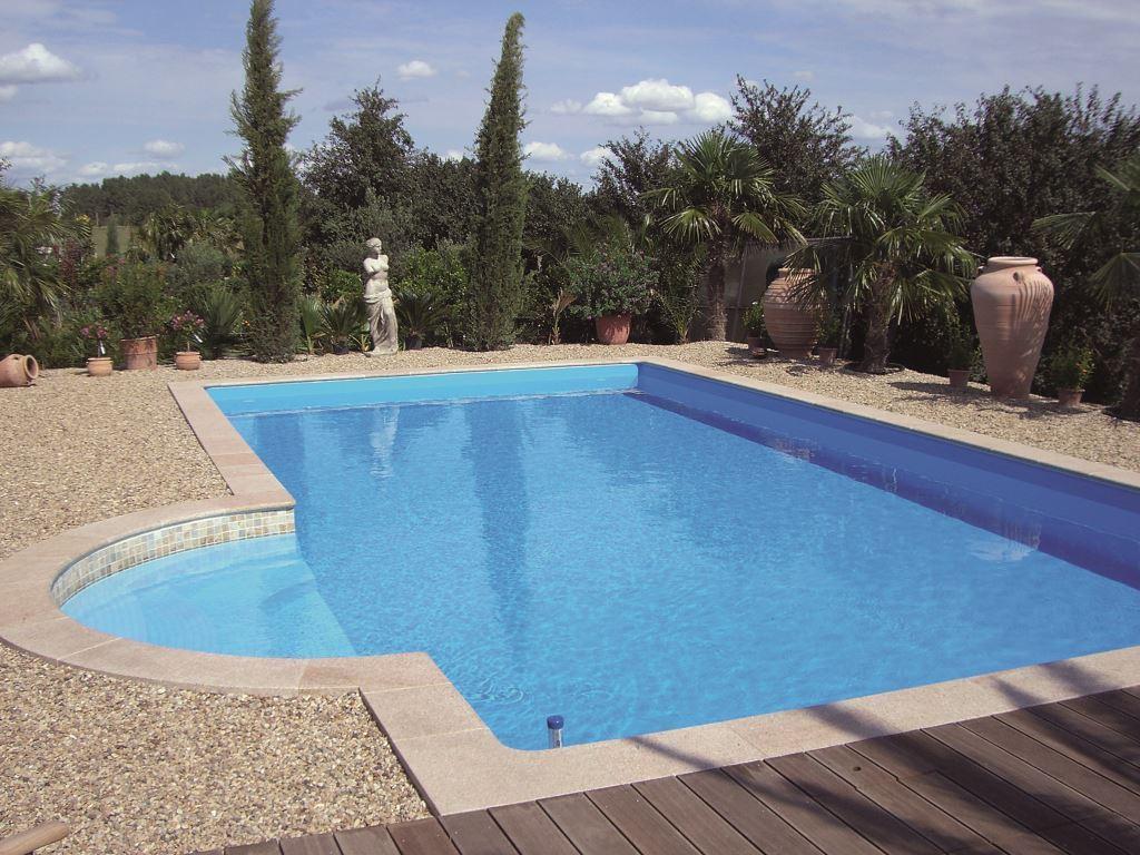 Folienpools clever pools - Gfk pool einbau ohne beton ...